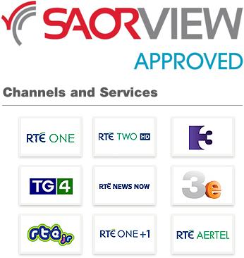 Saorview TV